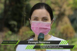 CSR initiative – Green Tashkent